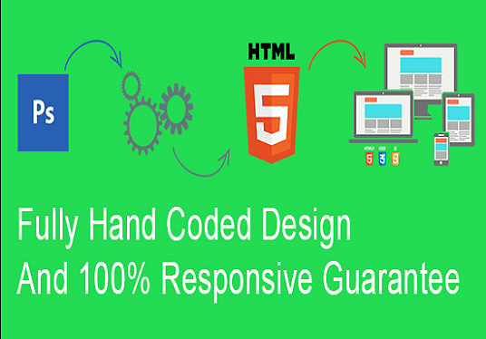 I will Convert PSD To Responsive HTML5
