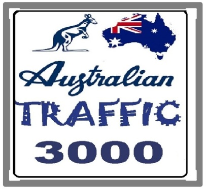 send 3000 targeted Australian traffic  with extras