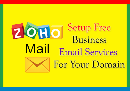 I will Setup Zoho FREE Email For Your Domain And Website