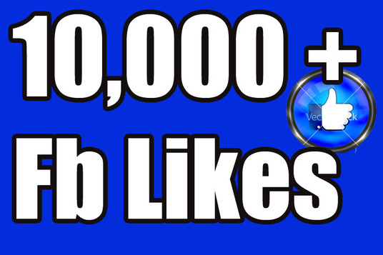 I will Give you 10,000 Facebook Likes
