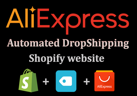 I will Create an Automated aliExpress  Dropshipping Website Professionally