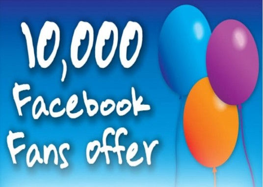 I will deliver 10,000 Facebook Fan Page likes