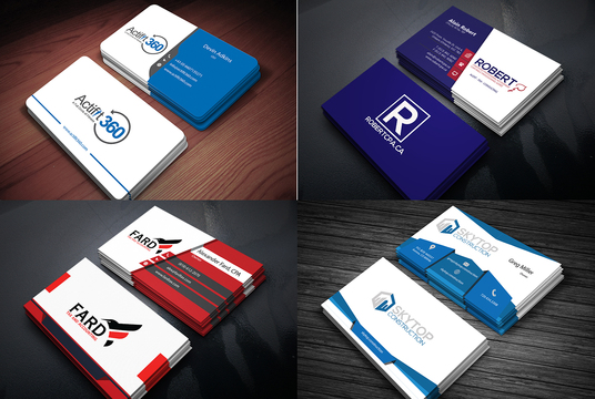 I will create exclusive, professional business cards for you