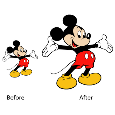 Convert your low resolution image into high resolution image