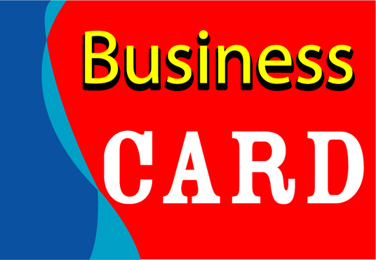 I will design Business card or logo