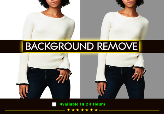 Professionally Remove Background of 15 Images