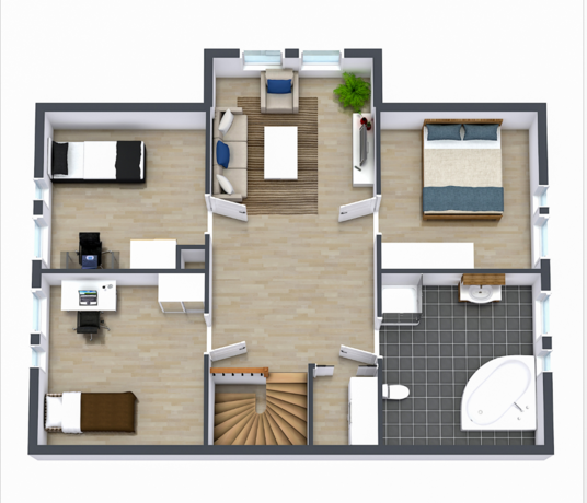 I will do 2D & 3D floor plan design for real estate marketing