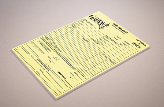 I will design amazing invoice & proposal for your business