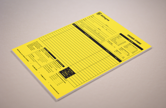 I will design amazing order form your business