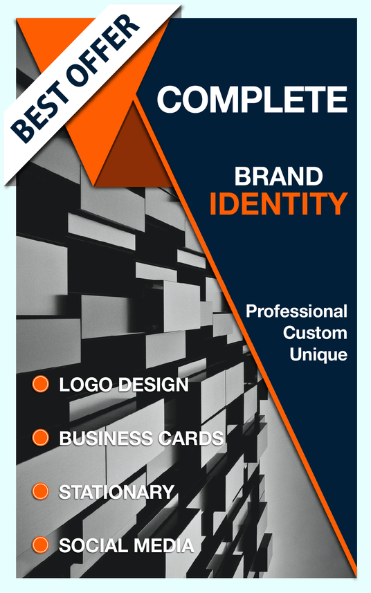 I will create you a professional LOGO and Brand Identity