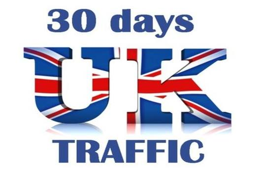 I will Drive Real UK Unlimited Website Traffic for 30 Days