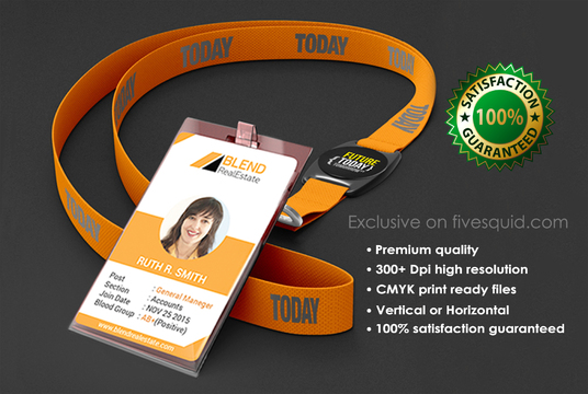 I will Design Professional Id Card Or Seal