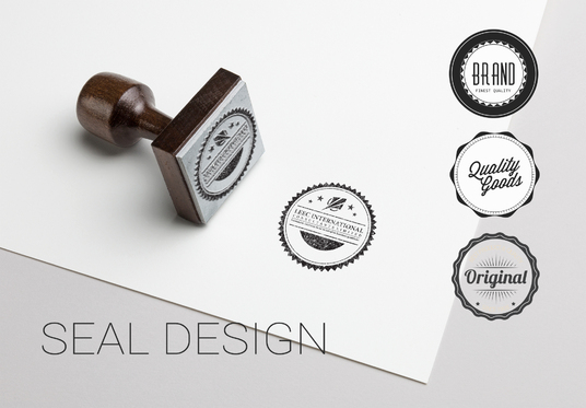 Design Professional Id Card Or Seal