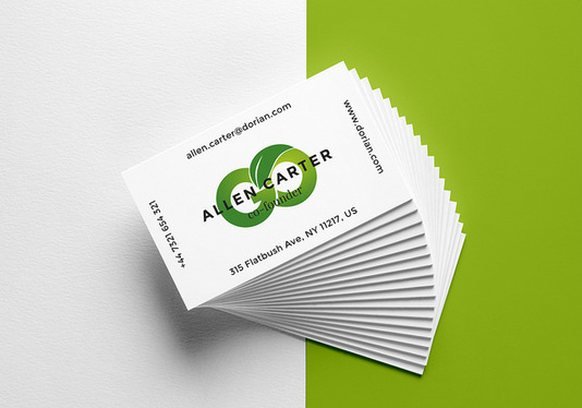 Design Astonishing Double Sided Business Card