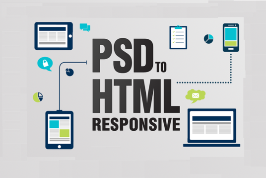 I will Convert PSD To HTML5 And Responsive Html