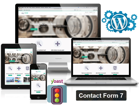 Design Wordpress Website And Do Yoast SEO For Your Website