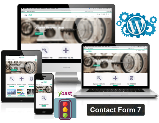 I will Design Wordpress Website And Do Yoast SEO For Your Website