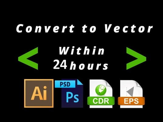 I will Convert Gif,Jpeg,Jpg,Png Image Or Logo To Vector Design Free Source Files 24hrs