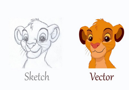 I will do vector tracing in 24 hours