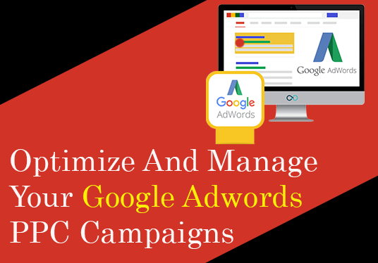 I will Setup, Optimize And Manage Your Google Adwords PPC Campaigns