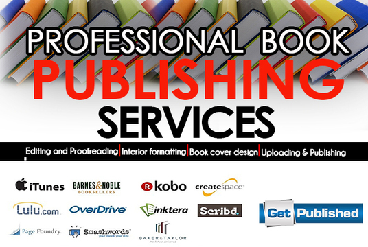 I will Publish Your Book For Createspace, Ingramspark,Kindle Or lulu
