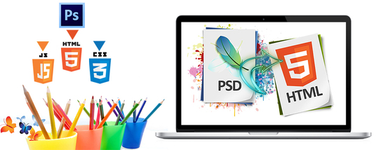 I will convert PSD to HTML responsive