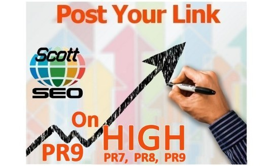 I will create high PR social site backlinks to your website or page