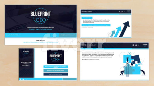 create a professional and creative powerpoint presentation for 5