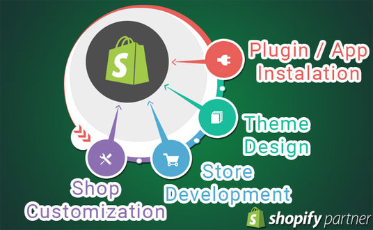 I will Modify And Customize Your Shopify Store Design And Features