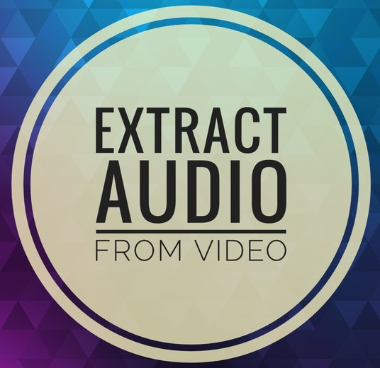 I will extract audio from video