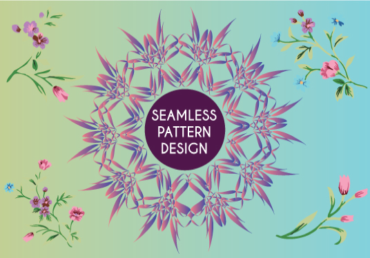 I will Design Multiple Trendy Patterns For Fabric, Textile Printing