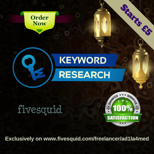 I will provide in-depth keyword research and competitor analysis