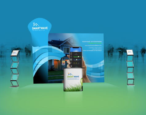 design a professional  exhibition stand