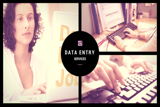 I will Do Data Entry Jobs