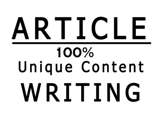 I will Do 500 SEO Blog Post or Article Writing For Your Website