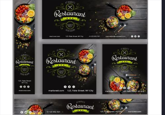 I will design awesome Instagram and facebook promotion banner ad