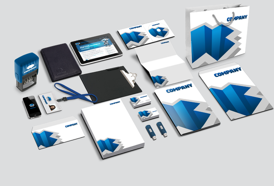 create logo and full branding stationery identity
