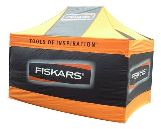 I will create a design of picnic tent or pop up wall or cover table