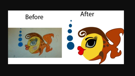 I will Do Vector Tracing Image
