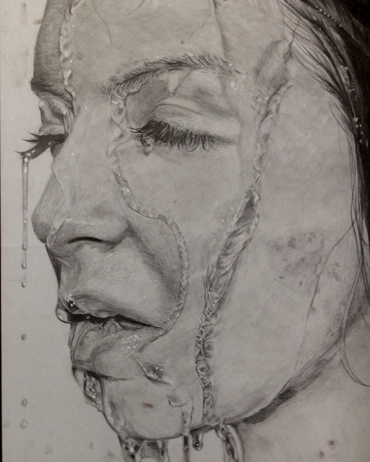 I will create an A3 photorealistic piece of any portrait from pencil