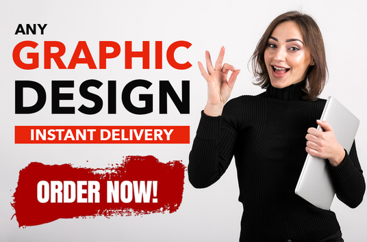 I will Do Any Custom Graphic Design work in 24 Hrs
