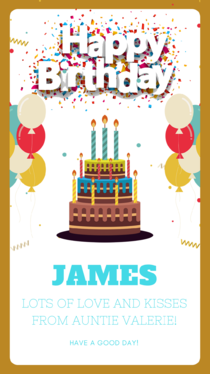 design a personalised electronic e card invitation for any special occasion