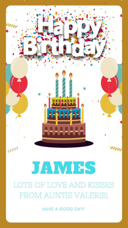 I will design a personalised electronic e card invitation for any special occasion