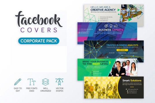 I will Design Facebook Banner And Social Media Covers In 24 Hr