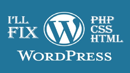 I will fix wordpress, html, css issues