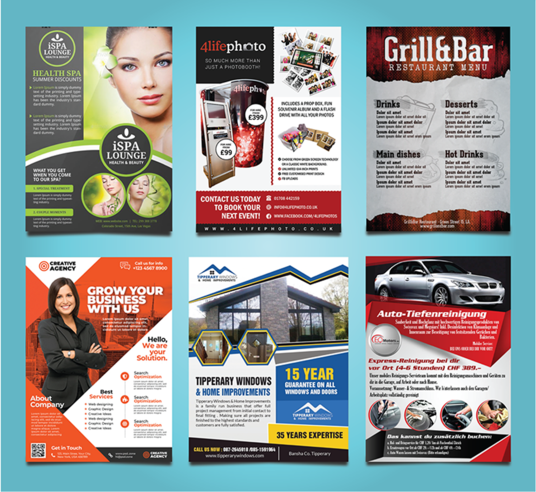 I will Create Great Looking Flyer Design