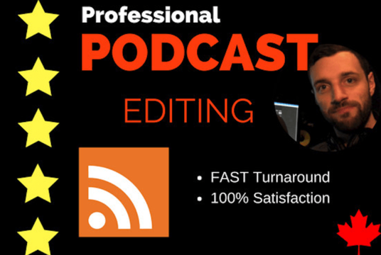 I will edit and make your podcast sound great