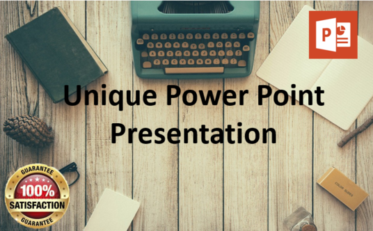 I will Design Branded Power point Presentation