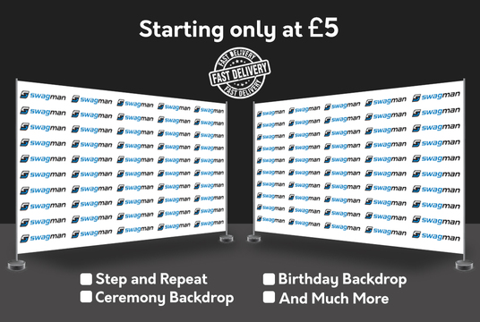 design Step and Repeat, Ceremony Backdrop, Birthday Backdrop