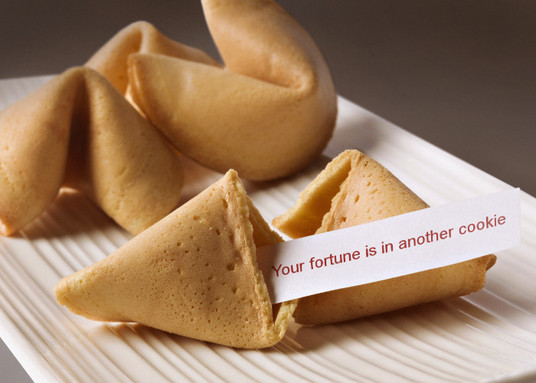 I will put your message on fortune cookies